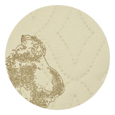 428-018 Подушка Овечья шерсть, полисатин, 50х70см, арт ГМ