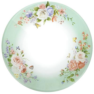 830-517 Нежное цветение Салатник стекло 178мм, S302007