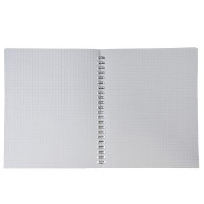 578-001 Тетрадь общая на спирали 48л. в клетку, офсет, обл.картон, лак, Т-04
