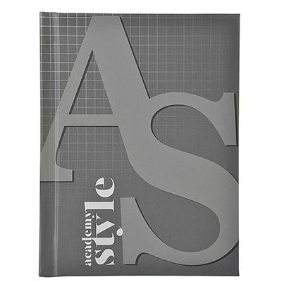 "574-011 Записная книжка А6 96л., твердая матовая обл., 7БЦ, резинка, в клетку, ""AS-style"", ЕАС-8385"