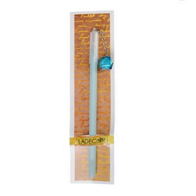 614-006 Гелевая ручка с подвеской-кристаллом, 3 цвета LADECOR