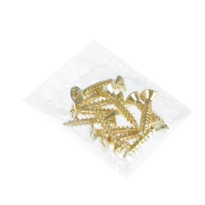 620-228 KORAL Петля накладная (БЕЗ ВРЕЗКИ) 4x3x2 pb, золото/хедер/