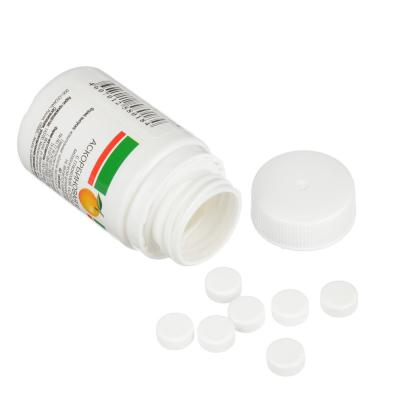 015-051 Аскорбиновая кислота с глюкозой,  40 таблеток