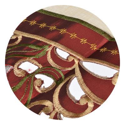 418-015 Дорожка декоративная для сервировки стола кружевная 45х160см