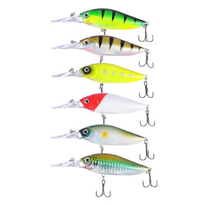145-138 AZOR FISHING Воблер Дип Шэд Флэт, SF, 11, 9 гр, 10, 8 см, глубина 0, 5-1, 5 м, 5 цветов