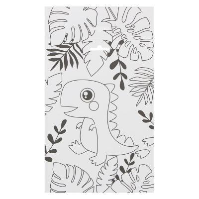 285-135 ХОББИХИТ Аппликация из помпончиков Микс, картон, текстиль, 17х24см, 8 дизайнов
