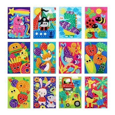 285-136 Аппликация самоклеящаяся Веселый день/Летунья, бумага, ЭВА, 16,5х23,5см, 6-12 дизайнов