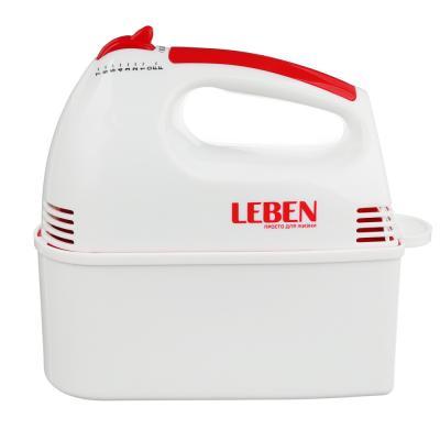 269-012 Миксер кухонный LEBEN 100Вт, 7 скоростей, 4 насадки с коробочкой