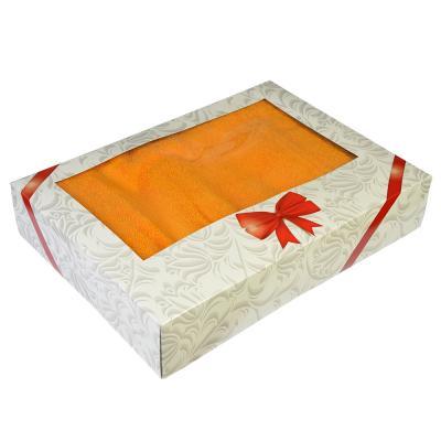 484-860 Набор полотенец махровых 2шт Spany Home Grace, 100% хлопок, 50х90см и 70х130см, в подарочной уп.