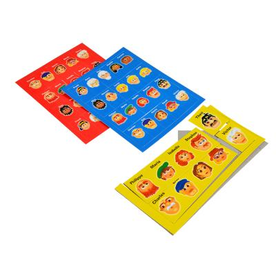 897-009 Настольная игра Логическая: Догадайся кто/Линия, пластик,20х14,5х4,5см