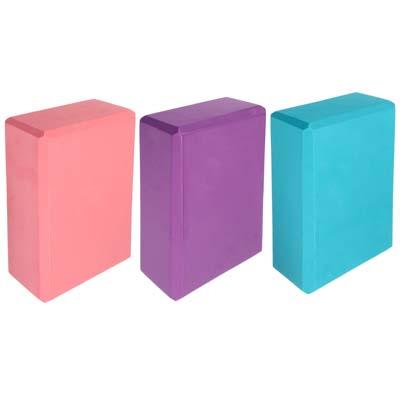 093-001 Блок для йоги, 23х15х8 см, SILAPRO