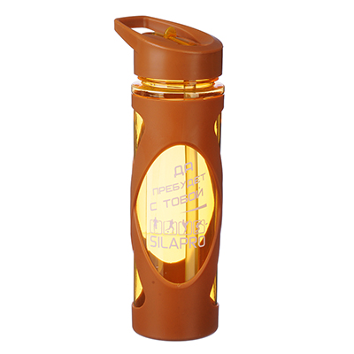 088-004 Шейкер для спортивного питания, 0,55 л, 23х6,5 см, SILAPRO