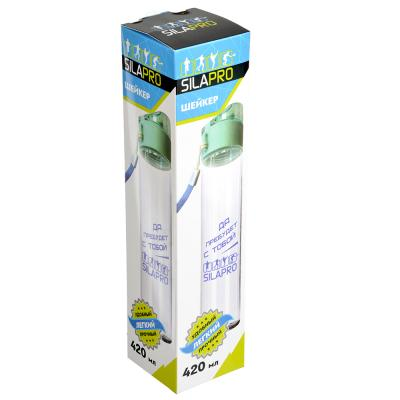088-008 SILAPRO Шейкер 420мл, 25х5,5см, пластмасса