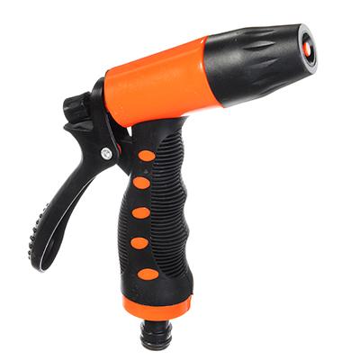 779-001 ЕРМАК Пистолет-распылитель, регулятор напора воды, фиксатор курка, АВС-пластик