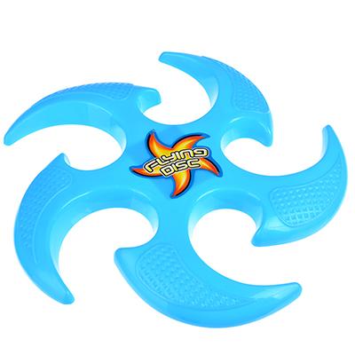 298-029 Фрисби-звездочка, пластик, 22х22х1,5см