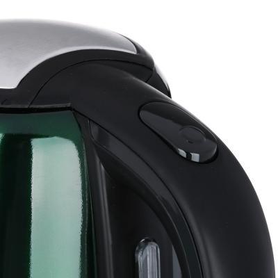 291-038 LEBEN Чайник электрический 1,8л, 1500Вт, скрытый нагр.элемент, автооткл., стекло, 3 цвета