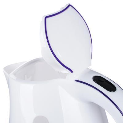 291-043 Чайник электрический 1,7 л LEBEN, 1850 Вт, пластик, белый