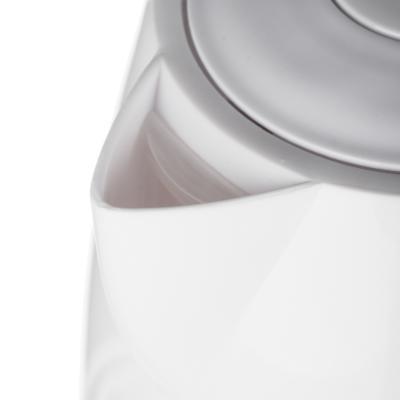 291-044 LEBEN Чайник электрический 1,0л, 1350Вт, скрытый нагр.элемент, пластик, 2 цвета