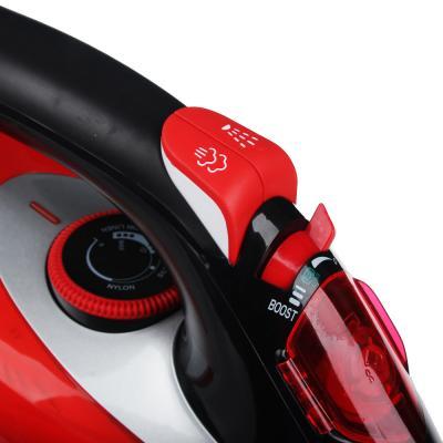 249-012 Утюг LEBEN 3000 Вт, подошва керамика, красный/черный