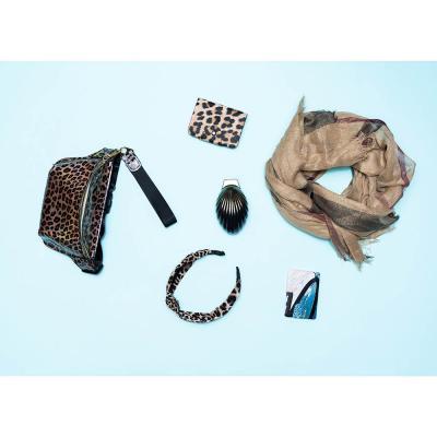 323-228 Ободок для волос, полиэстер, пластик, ширина 3 см, 3 цвета, #3