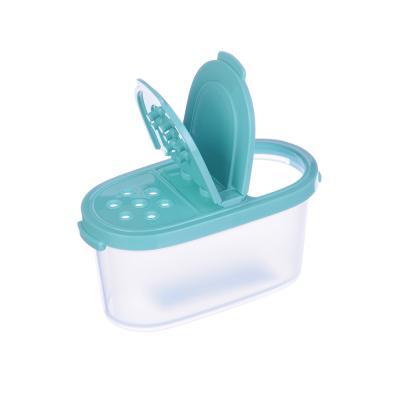 861-143 Емкость для сыпучих продуктов, специй 120мл, пластик, М1245