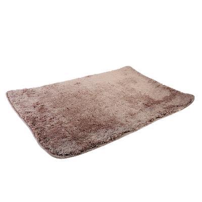 599-048 SonWelle Коврик для ванной МЯГКИЙ 50х75см микрофибра беж