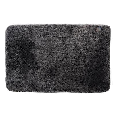 599-051 SonWelle Коврик для ванной МЯГКИЙ 50х75см микрофибра серый