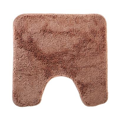 599-052 SonWelle Коврик для туалета МЯГКИЙ 50х50см микрофибра беж