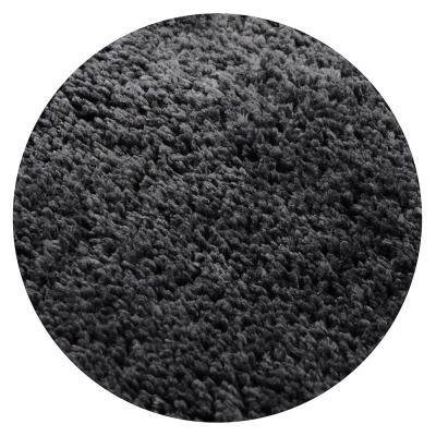 599-055 SonWelle Коврик для туалета МЯГКИЙ 50х50см микрофибра серый
