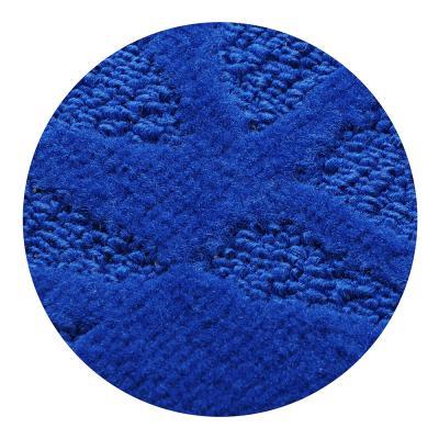 599-060 SonWelle Коврик для ванной ВЕТКА 50х70см полипропилен синий