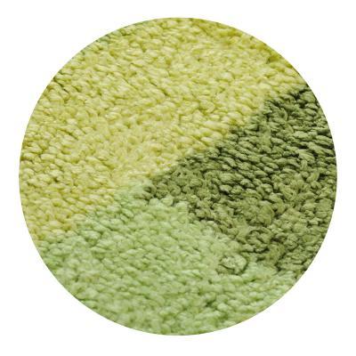 599-065 SonWelle Коврик для ванной ПОЛОСКА 50х75см микрофибра зеленый