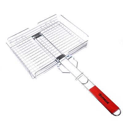 Решётка-гриль универсальная 59(+4)*(31.5x27.5x6)cм, съёмная ручка