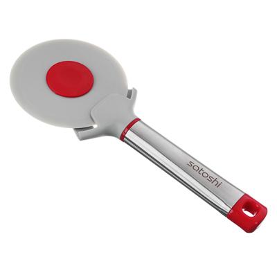 881-198 Нож для пиццы, жаропрочный нейлон, ручка нержавеющая сталь/пластик, Премьер SATOSHI