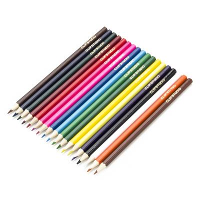 228-034 Цветные карандаши, 18 цветов, заточенные, ДЖИНС