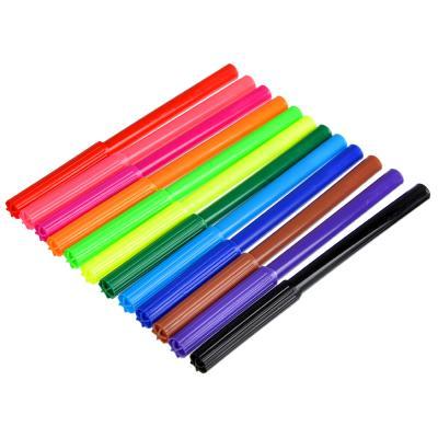256-081 Набор фломастеров, 12 цветов, с цветным колпачком, ДЖИНС
