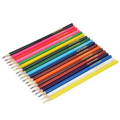 228-055 Цветные карандаши, 18 цветов, заточенные, СПЕЙС ФУТБОЛ