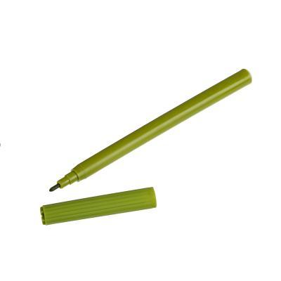 256-119 Набор фломастеров, 18 цветов, с цветным колпачком, СПЕЙС ФУТБОЛ