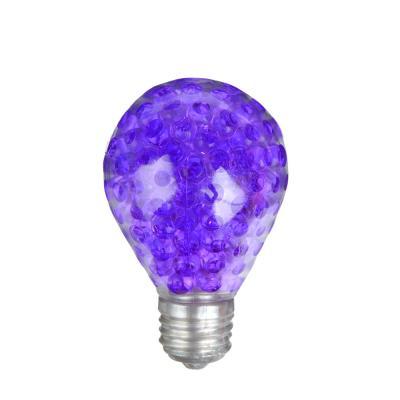 297-029 Мялка в виде Лампочки с шариками, резина, 5х8х5см, 6 цветов