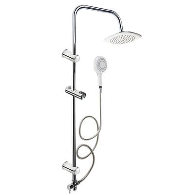 545-069 CRYSTAL mix Душевая система, верхний душ 1 реж, ручной душ 1 реж