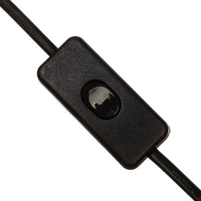 417-102 Лампа настольная с выкл. на шнуре 100см, 60Вт, H50см, 220В, E27, металл, 3 цвета