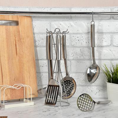 882-256 Набор кухонных принадлежностей 7 предметов,. нержавеющая сталь, Альфа SATOSHI