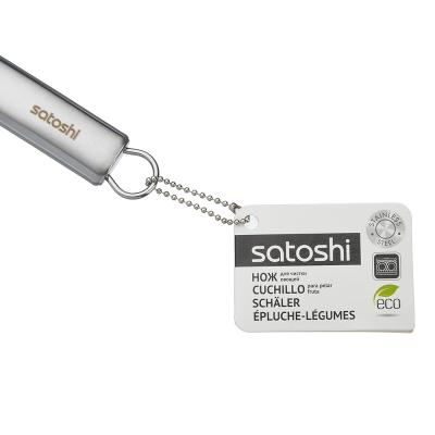 882-260 Нож для чистки овощей Y-форма, нержавеющая сталь, Альфа SATOSHI