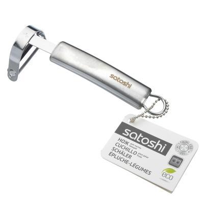 882-261 Нож для чистки овощей, нержавеющая сталь, Альфа SATOSHI