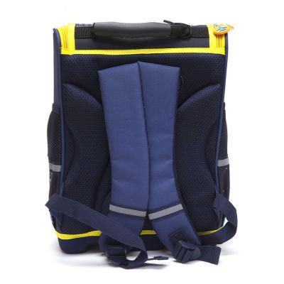 254-125 Школьный ранец для мальчика, 35x26x20см, жесткий каркас, формованное дно,  ЗВЕЗДНЫЙ ДЕСАНТ