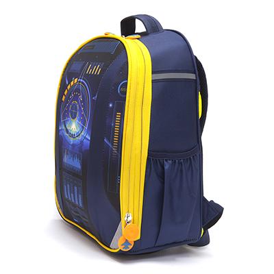 254-126 Рюкзак школьный, 38x30x20см, жесткий каркас, ЗВЕЗДНЫЙ ДЕСАНТ