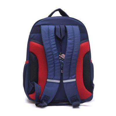 254-128 Школьный рюкзак для мальчика, 38x30x20см, жесткий каркас, НОЧНЫЕ ГОНКИ