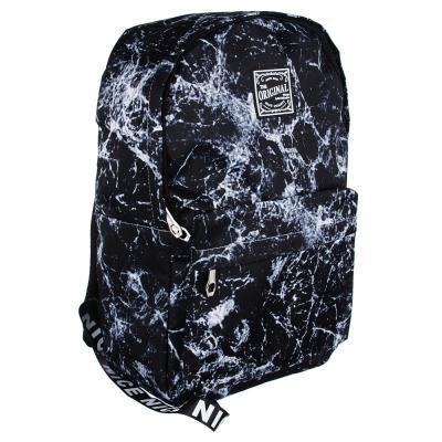 254-141 Рюкзак 45x32x15 см с 1 отделением, нейлон, серый с рисунком