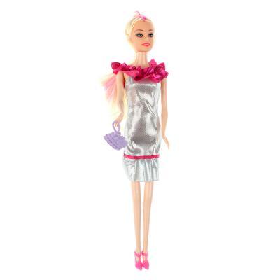267-714 Кукла 29см, пластик полиэстер, 6х29х3см, 3 дизайна