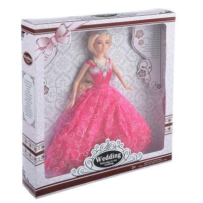 267-715 Кукла 29см в нарядном платье, пластик, полиэстер, 2 дизайна