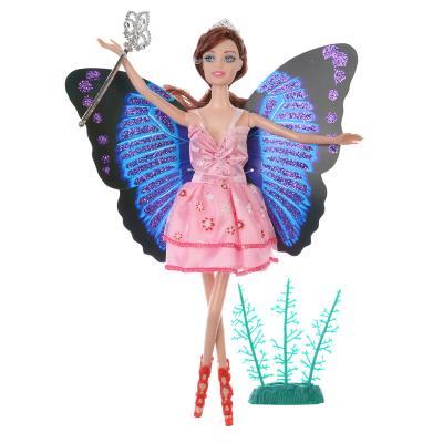 267-716 Кукла с крыльями 29см, пластик, полиэстер, 9х29х3см, 2 дизайна